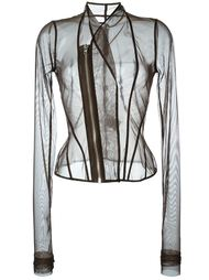 tulle zipped jacket Rick Owens Lilies