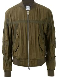 куртка-бомбер с панельным дизайном  Wooyoungmi