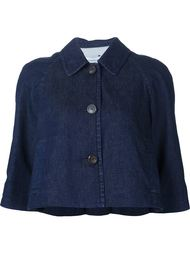 cropped denim jacket Rosetta Getty