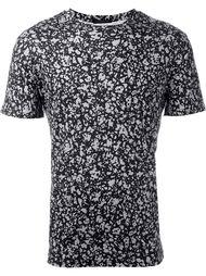 футболка с пестрым принтом Christopher Kane