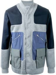 куртка-бомбер с панельным дизайном Tim Coppens