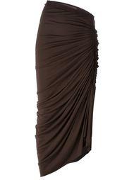 драпированная юбка миди Rick Owens Lilies