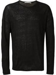 свитер с полупрозрачными рукавами  Isabel Benenato
