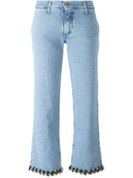 джинсы с контрастной окантовкой  Jour/Né