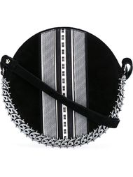 Leather and Suede Chainmail Drum Bag Paco Rabanne