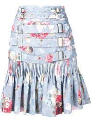 расклешенная юбка с цветочным принтом Zimmermann