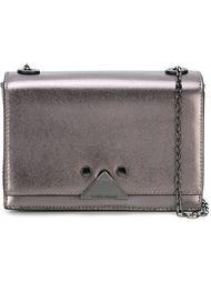 сумка-сэтчел с металлическим отблеском  Emporio Armani