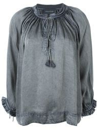 'Theresa' tie neck blouse Zadig & Voltaire