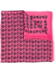 'Kerry' ethnic skull print scarf Zadig & Voltaire