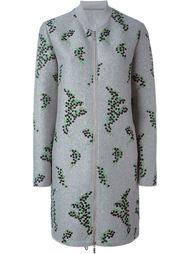 пальто 'Bagonia' с вышивкой  Moncler Gamme Rouge