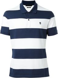 striped polo shirt Alexander McQueen
