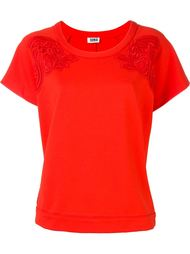 lace embroidery wide fit T-shirt Sonia By Sonia Rykiel