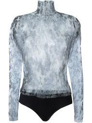прозрачная блузка  Yang Li