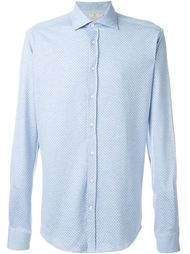 patterned shirt Hackett