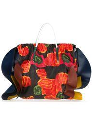 сумка-тоут с цветочным принтом Toga