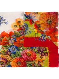 floral print scarf Dolce & Gabbana