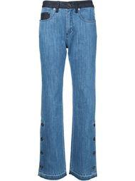 side button bootcut jeans Sonia Rykiel