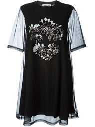 платье с пайетками McQ Alexander McQueen