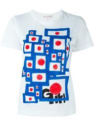 футболка с принтом  Comme Des Garçons Girl
