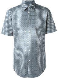 рубашка с короткими рукавами и принтом Burberry London