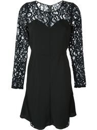 laced sleeves flare dress Sonia By Sonia Rykiel