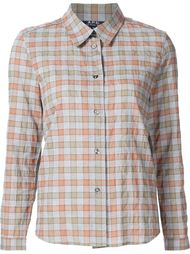checked shirt A.P.C.