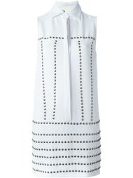 платье-рубашка с заклепками 8pm
