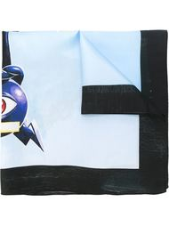 'Electric Eye' scarf Walter Van Beirendonck