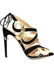 босоножки на шнуровке Jerome Rousseau
