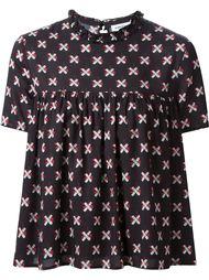 блузка в горошек  Au Jour Le Jour