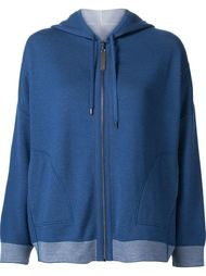 zipped hoodie Maison Ullens