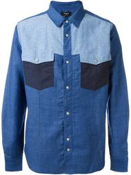 three-tone western shirt Ports 1961