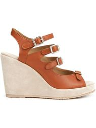 strappy wedge sandals A.P.C.