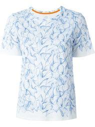 футболка с принтом Tory Burch