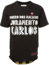 футболка с комбинированным принтом Sold Out Frvr
