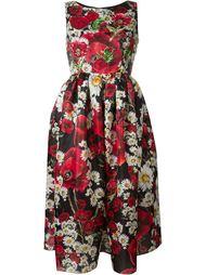 daisy and poppy print dress Dolce & Gabbana