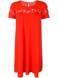 open lace panel shift dress Sonia By Sonia Rykiel