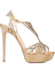 embellished strappy sandals Rene Caovilla