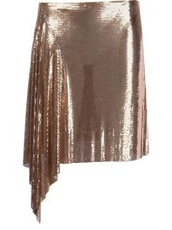 draped mini skirt Paco Rabanne