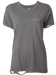 distressed T-shirt NSF