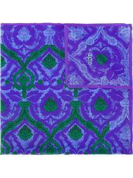 платок с орнаментом Fendi Vintage