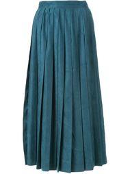 плиссированная юбка с эффектом замши Cityshop