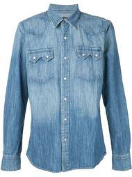 джинсовая рубашка 321