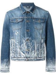 джинсовая куртка с линялым эффектом  Iceberg
