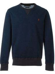 kull embroidered sweatshirt Alexander McQueen