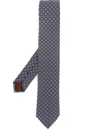 галстук с цветочным узором Fashion Clinic