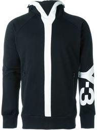 sleeve logo hoodie Y-3
