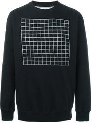 grit print sweatshirt Han Kjøbenhavn