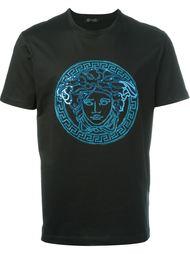 футболка с аппликацией  Versace