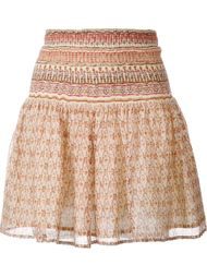 Ibiza Printed Mini Skirt Mes Demoiselles